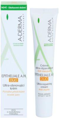 A-Derma Epitheliale A.H. Duo ultra-obnovující krém proti tvorbě jizev na obličej a tělo 1