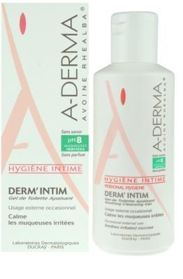 A-Derma Derm´Intim гел за интимна хигиена pH 8 1
