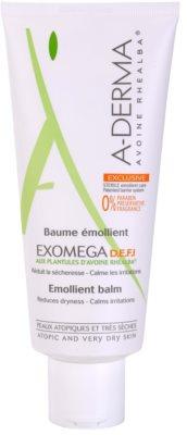 A-Derma Exomega balsam pentru corp pentru piele foarte sensibila sau cu dermatita atopica