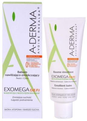 A-Derma Exomega bálsamo corporal para pele sensível e atópica 1