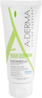 A-Derma Exomega creme de proteção para pele sensível e atópica