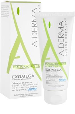 A-Derma Exomega ochranný krém pre veľmi suchú citlivú a atopickú pokožku 1