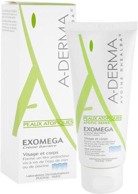 A-Derma Exomega crema protectora para pieles muy secas, sensibles y atópicas 1