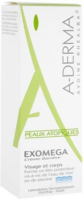A-Derma Exomega crema protectora para pieles muy secas, sensibles y atópicas 2