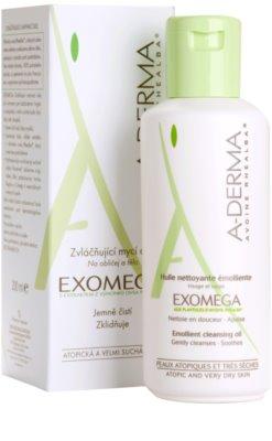 A-Derma Exomega sprchový olej pre veľmi suchú citlivú a atopickú pokožku 1