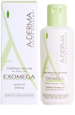 A-Derma Exomega sprchový olej pre veľmi suchú citlivú a atopickú pokožku 2