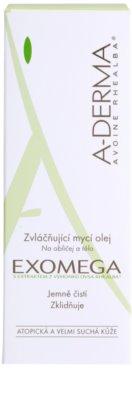A-Derma Exomega sprchový olej pre veľmi suchú citlivú a atopickú pokožku 3