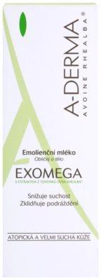 A-Derma Exomega мляко за тяло  за много суха чуствителна и атопична кожа 3