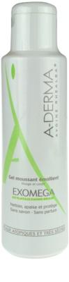 A-Derma Exomega gel espumoso suavizante para pieles muy secas, sensibles y atópicas