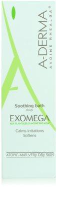 A-Derma Exomega baño calmante  para pieles muy secas, sensibles y atópicas 2