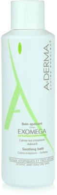 A-Derma Exomega успокояшаща баня за много суха чуствителна и атопична кожа