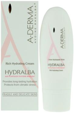 A-Derma Hydralba hydratační krém pro suchou pleť 1