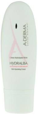 A-Derma Hydralba зволожуючий крем для сухої шкіри