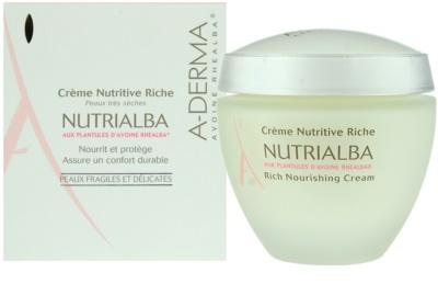 A-Derma Nutrialba поживний крем для дуже сухої шкіри 1