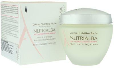 A-Derma Nutrialba поживний крем для дуже сухої шкіри 2