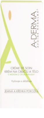 A-Derma Original Care krém  az érzékeny bőrre 3