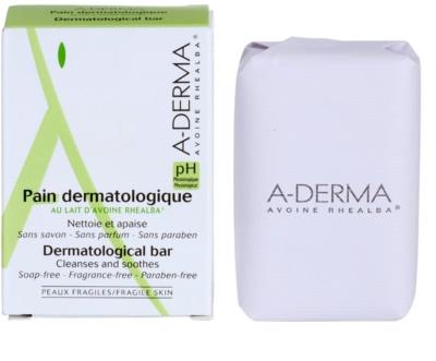 A-Derma Original Care pan limpiador dermatológico  para pieles sensibles e irritadas