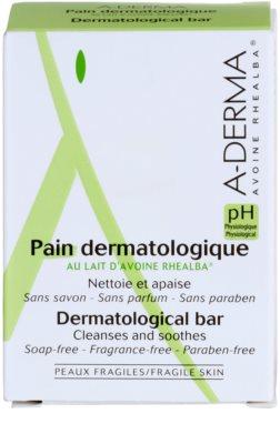 A-Derma Original Care дерматологічне очищаюче мило для чутливої та подразненої шкіри 2