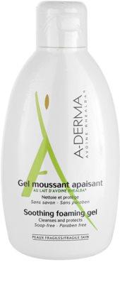 A-Derma Original Care pěnivý gel pro citlivou pokožku