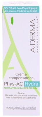 A-Derma Phys-AC Hydra crema hidratanta pentru piele iritata sau uscata datorita tratamentelor impotriva acneei 2
