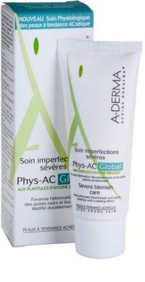 A-Derma Phys-AC Global tratamiento completo para pieles problemáticas y con acné 2
