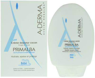 A-Derma Primalba Bébé ochranný krém na tělo a obličej 1