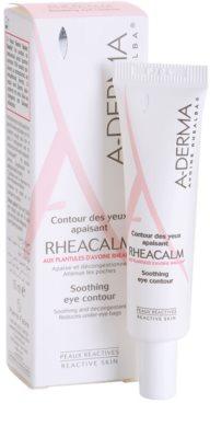 A-Derma Rheacalm zklidňující oční krém 1