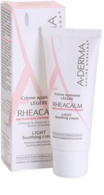 A-Derma Rheacalm успокояващ крем за нормална към смесена кожа 1