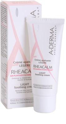 A-Derma Rheacalm krem kojący do cery normalnej i mieszanej 1