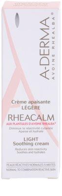 A-Derma Rheacalm успокояващ крем за нормална към смесена кожа 3