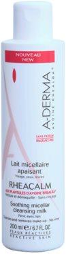 A-Derma Rheacalm leche limpiadora micelar calmante