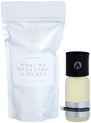 A Lab on Fire What we do in Paris is Secret Eau de Parfum unissexo