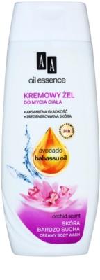 AA Cosmetics Oil Essence Avocado,Babassu Duschcreme-Gel für sehr trockene Haut