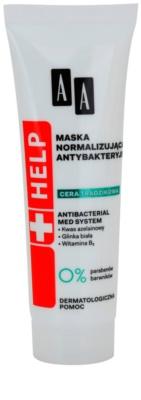 AA Cosmetics Help Acne Skin antibakteriální normalizující maska