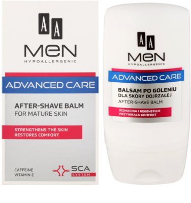 AA Cosmetics Men Advanced Care After Shave Balsam für reife Haut 1