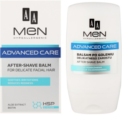 AA Cosmetics Men Advanced Care After Shave Balm For Sensitive And Irritated Skin 1