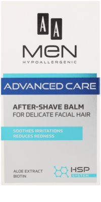 AA Cosmetics Men Advanced Care After Shave Balm For Sensitive And Irritated Skin 2