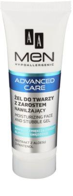 AA Cosmetics Men Advanced Care hydratační a zklidňující gel na obličej a vousy