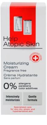 AA Cosmetics Help Atopic Skin hidratáló krém parfümmentes 2
