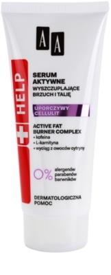 AA Cosmetics Help Stubborn Cellulite ser pentru slabire burta si talie