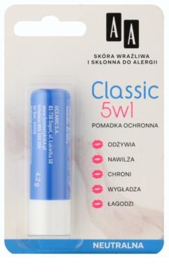 AA Cosmetics Lip Care  Classic ajakvédő balzsam 5 in 1