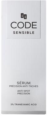 AA Cosmetics CODE Sensible sérum proti pigmentovým skvrnám 2