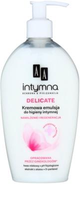 AA Cosmetics Intimate Delicate Emulsion für die intime Hygiene mit Panthenol