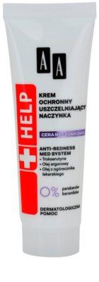 AA Cosmetics Help Dilated Capillaries védő és nyugtató krém a bőr kipirosodásának megszüntetéséért