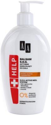 AA Cosmetics Help Dry and Rough Skin balsam SOS o dzłałaniu nawilżającym