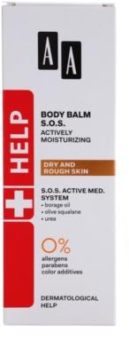 AA Cosmetics Help Dry and Rough Skin SOS Balsam mit feuchtigkeitsspendender Wirkung 2