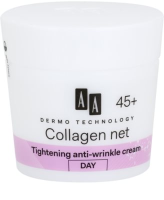 AA Cosmetics Dermo Technology Collagen Net Builder crema de zi cu efect lifting  45+