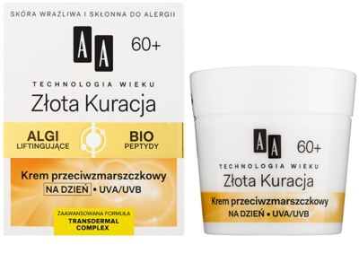 AA Cosmetics Age Technology Golden Therapy Tagescreme gegen Falten 60+ 1