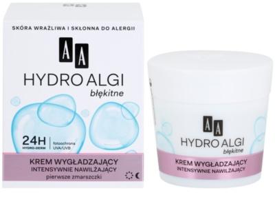 AA Cosmetics Hydro Algae Blue krem intensywnie nawilżający przeciw pierwszym oznakom starzenia skóry 1