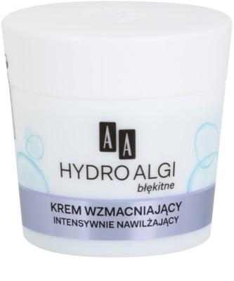 AA Cosmetics Hydro Algae Blue erősítő krém az elpattogott erekre hidratáló hatással